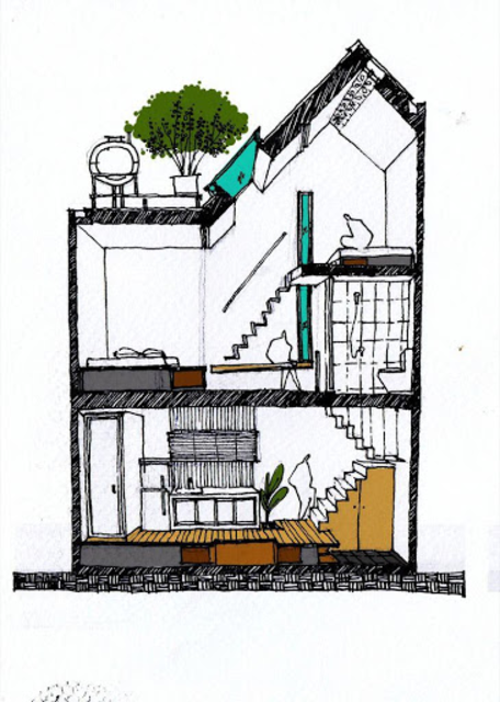 Architecture House Drawing screenshot 3