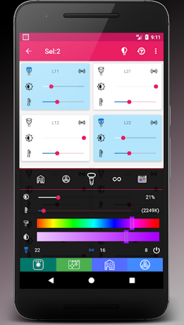 MyHue App and QuickSettings Tiles for Philips Hue screenshot 7