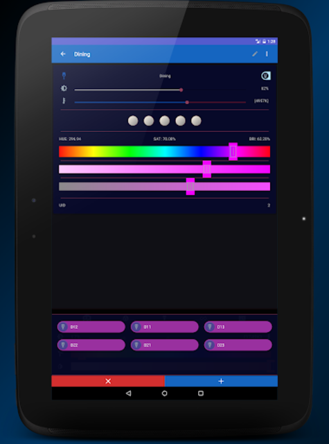 MyHue App and QuickSettings Tiles for Philips Hue screenshot 13