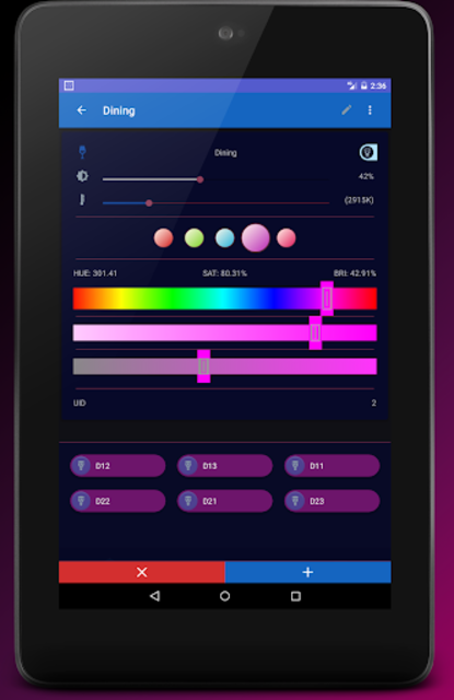 MyHue App and QuickSettings Tiles for Philips Hue screenshot 21