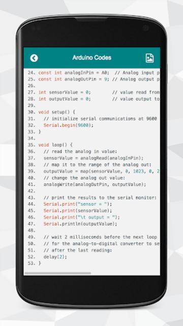 Arduino Codes screenshot 3