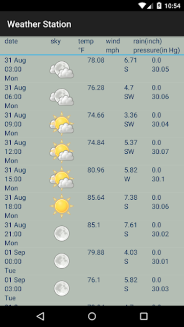 Weather Station screenshot 4