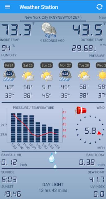 Weather Station screenshot 1