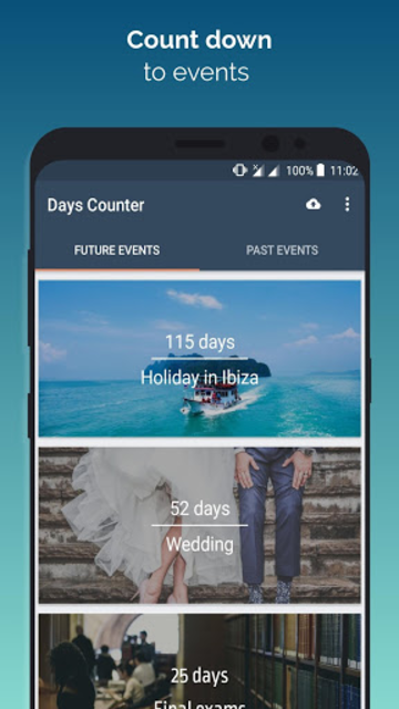 Days Counter: Time and Event Countdown screenshot 1