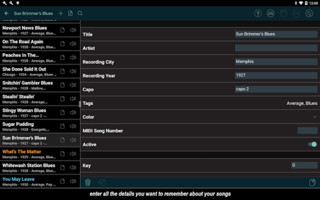 Set List Maker screenshot 6