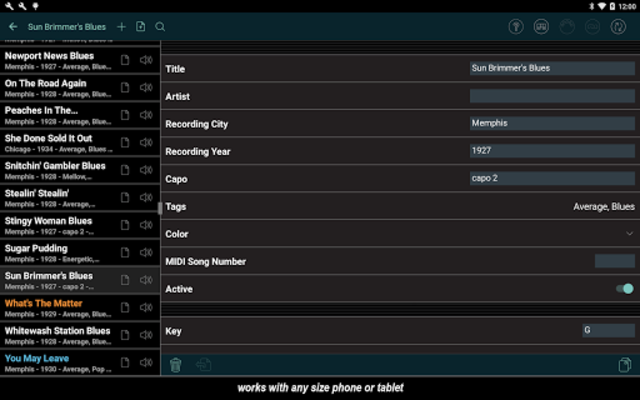 Set List Maker screenshot 11