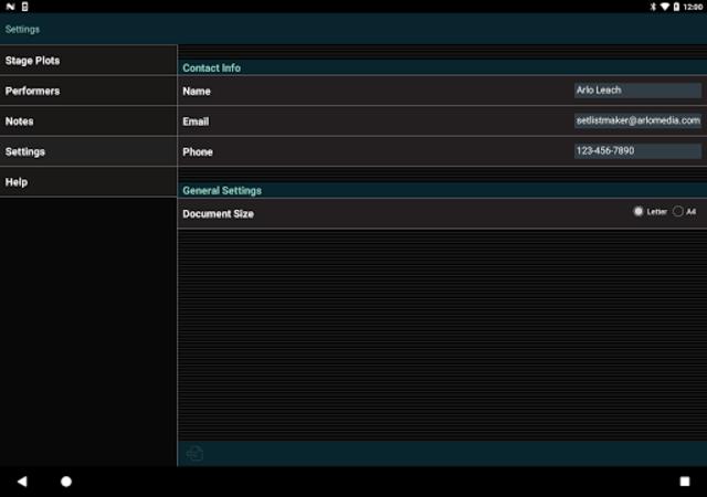 Stage Plot Maker screenshot 10