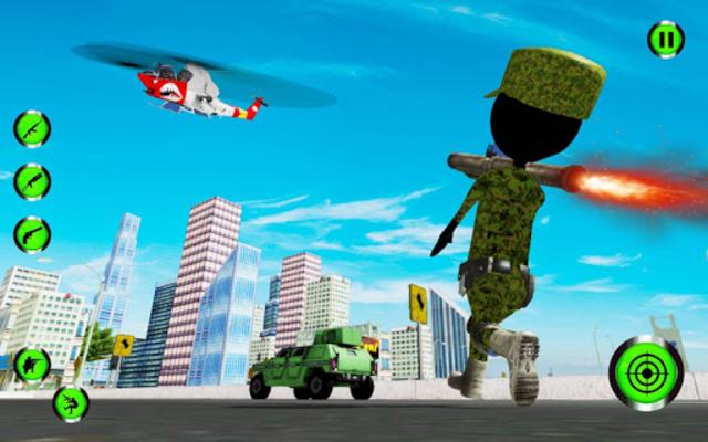 Army Stickman Strike screenshot 1