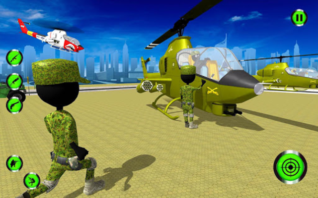 Army Stickman Strike screenshot 2