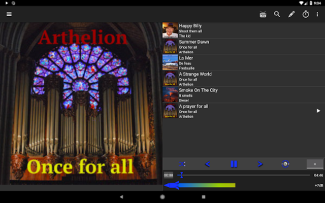 Loud Player - Audio player screenshot 9