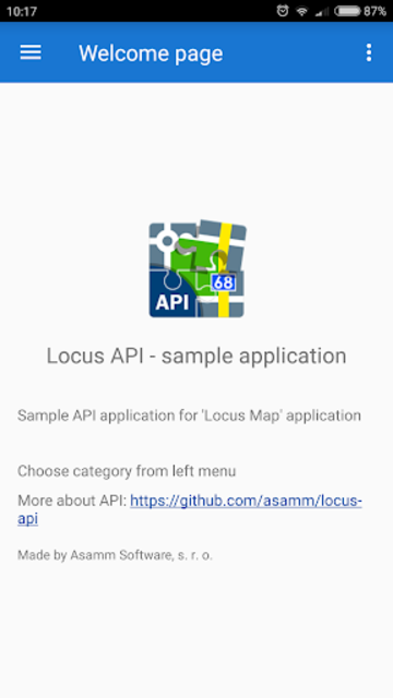 Locus API - Sample Solutions screenshot 1
