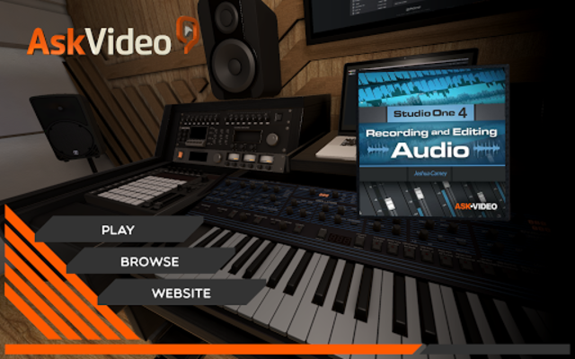 Recording & Editing Audio Course For Studio One 4 screenshot 1
