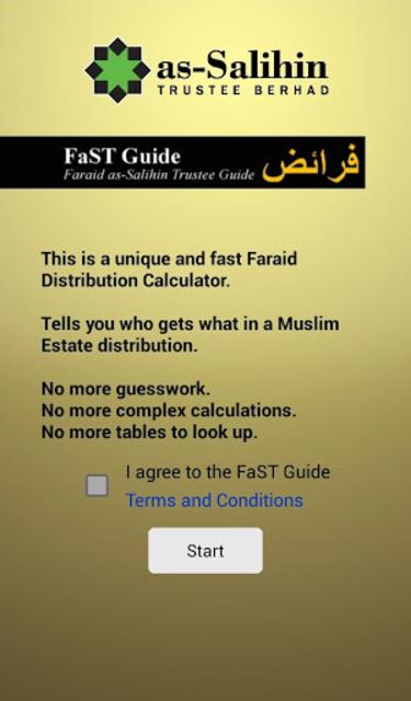 FaST Guide screenshot 1