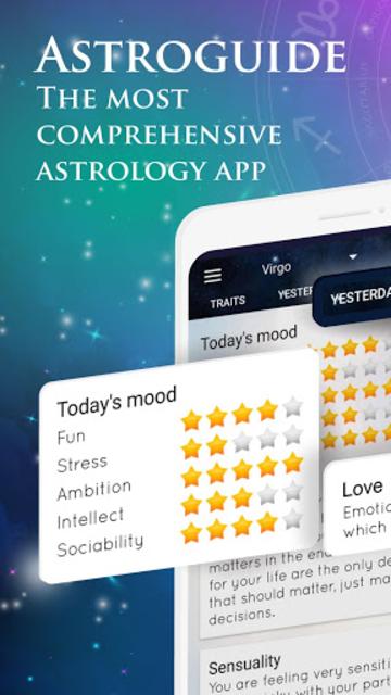 Astroguide - Free Daily Horoscope & Tarot screenshot 1