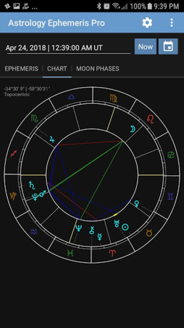 Astrology Ephemeris Pro screenshot 2