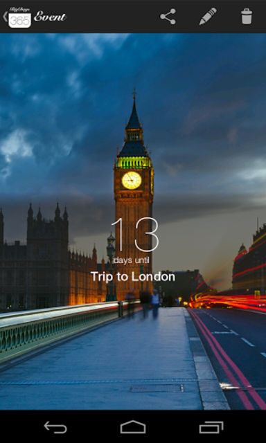 Big Days - Events Countdown screenshot 23