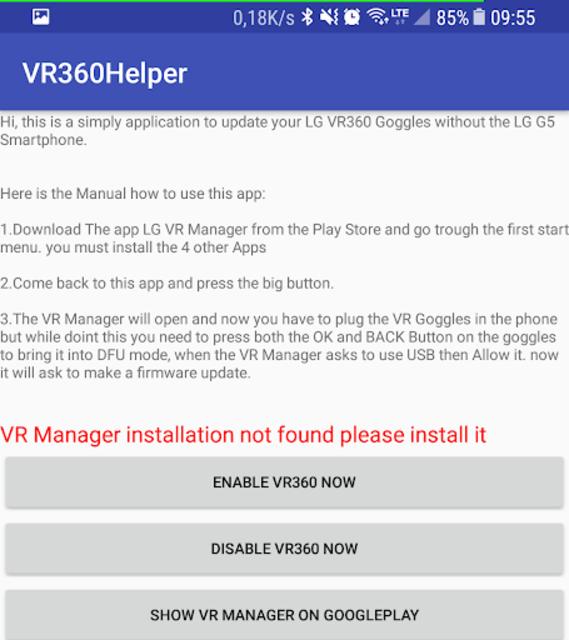 VR360Helper screenshot 2