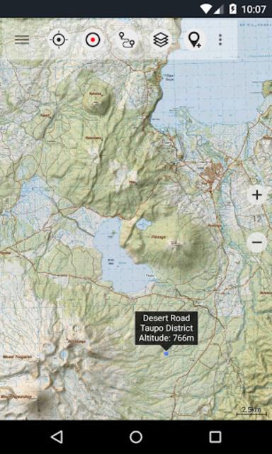 New Zealand Topo Maps Pro screenshot 1