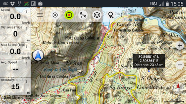 Spain Topo Maps screenshot 5