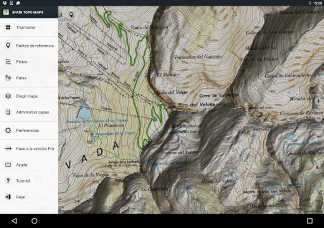 Spain Topo Maps screenshot 11