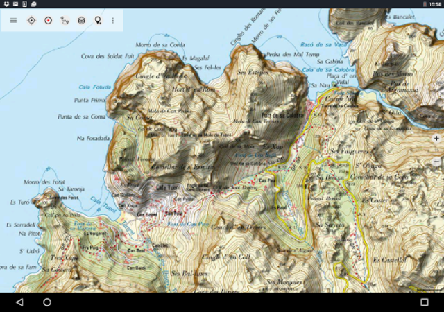 Spain Topo Maps screenshot 14