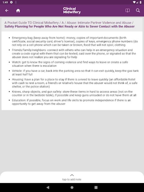 Guide to Clinical Midwifery screenshot 8