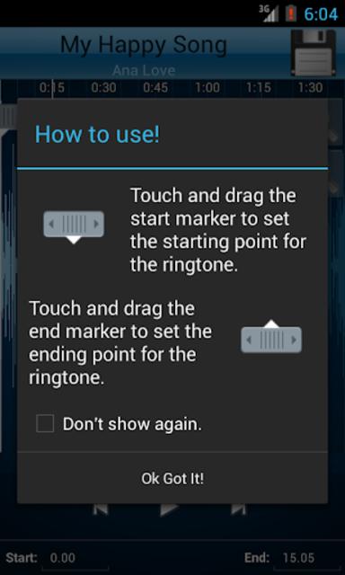 MP3 Cutter and Ringtone Maker♫ screenshot 2