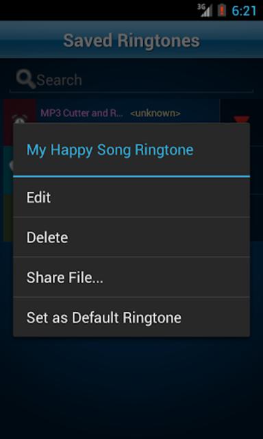 MP3 Cutter and Ringtone Maker♫ screenshot 7