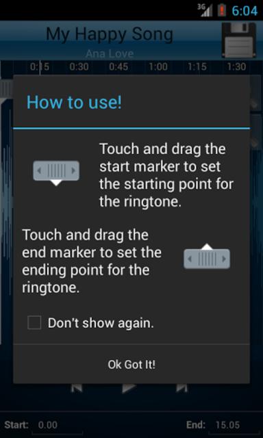 MP3 Cutter and Ringtone Maker♫ screenshot 1