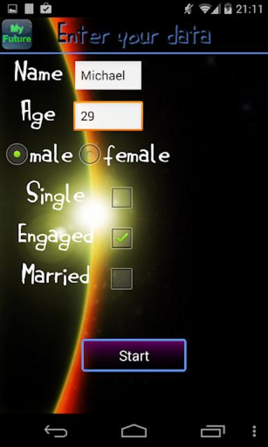My Future screenshot 2