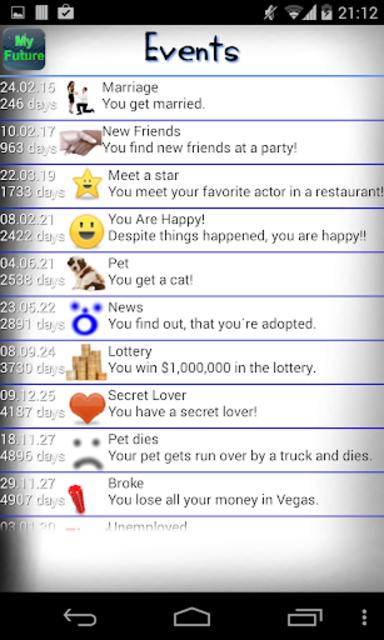 My Future screenshot 3