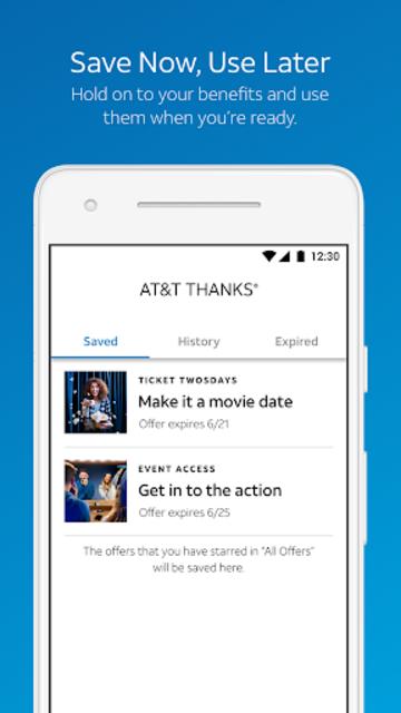 AT&T THANKS® screenshot 4