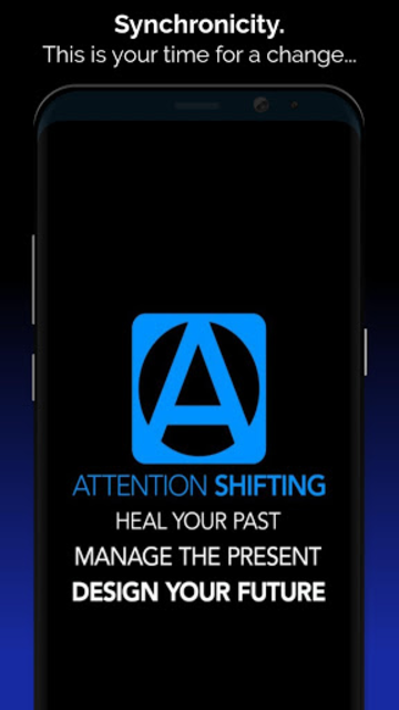 Hypnosis App - Attention Shifting - Hypnotherapy screenshot 1