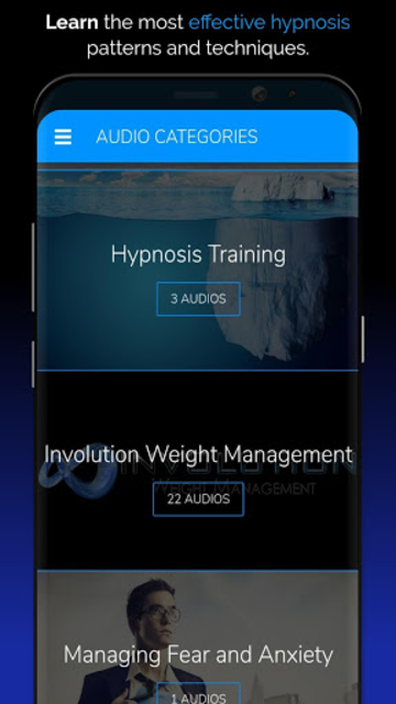 Hypnosis App - Attention Shifting - Hypnotherapy screenshot 2