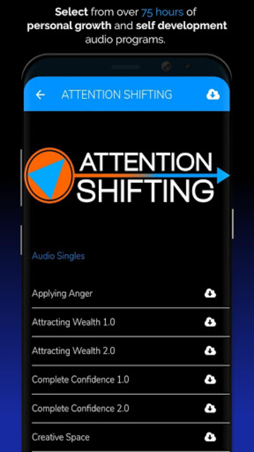 Hypnosis App - Attention Shifting - Hypnotherapy screenshot 4