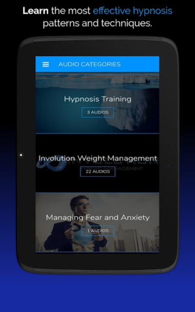 Hypnosis App - Attention Shifting - Hypnotherapy screenshot 10