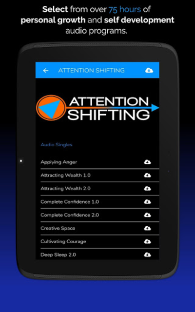 Hypnosis App - Attention Shifting - Hypnotherapy screenshot 12