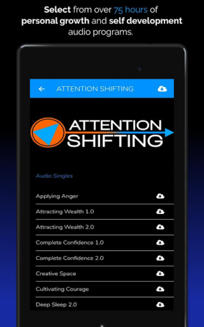Hypnosis App - Attention Shifting - Hypnotherapy screenshot 20