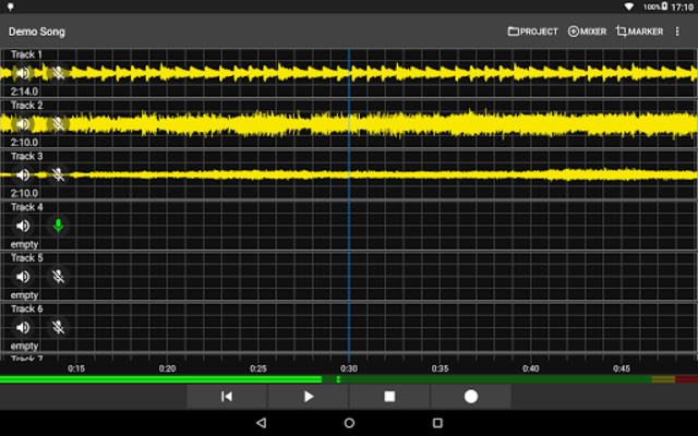 Aubade Audio Studio screenshot 5
