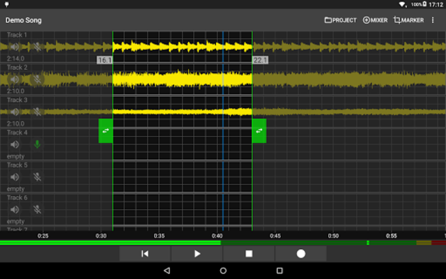 Aubade Audio Studio screenshot 6