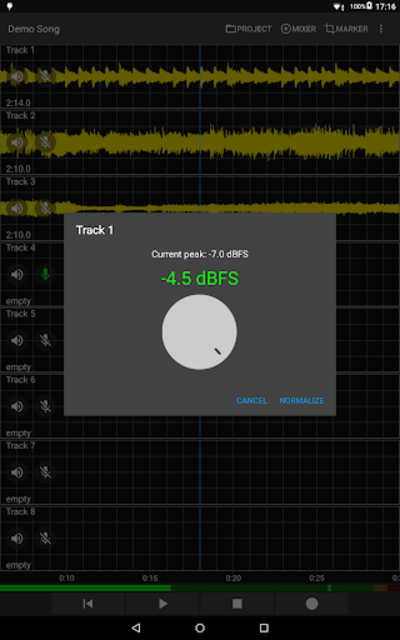 Aubade Audio Studio screenshot 7