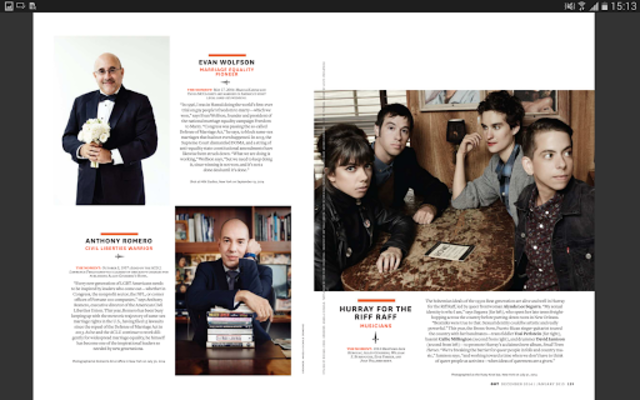 OUT Magazine screenshot 7