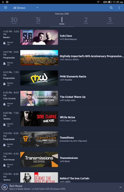 DI.FM: Electronic Music Radio screenshot 11