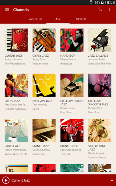 JAZZ RADIO screenshot 12