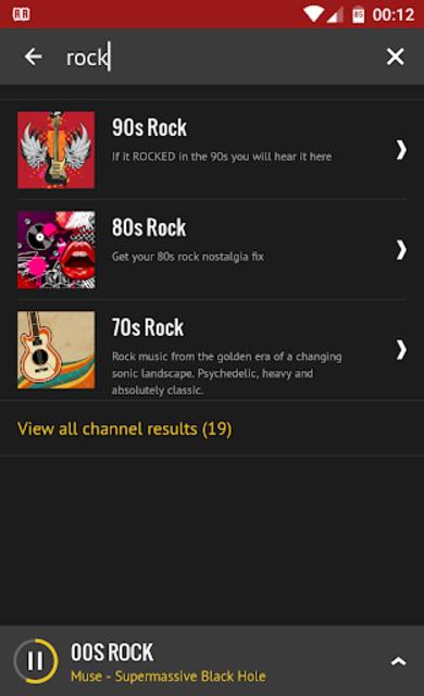Rock Radio screenshot 7