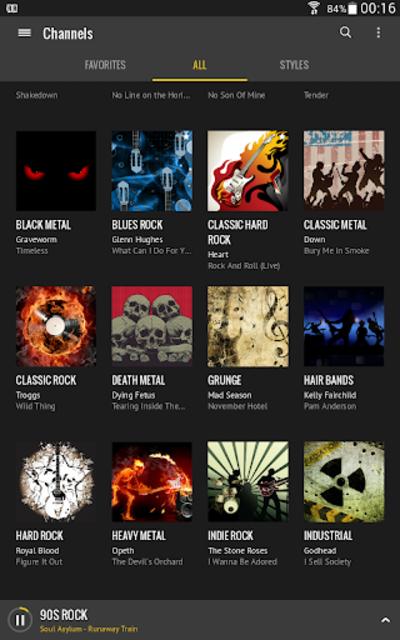 Rock Radio screenshot 12