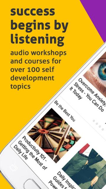 Audiojoy Life Success Programs & Wellness Courses screenshot 1