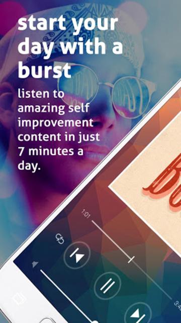 Daily Burst | Simple Wellness, Advice, Inspiration screenshot 1