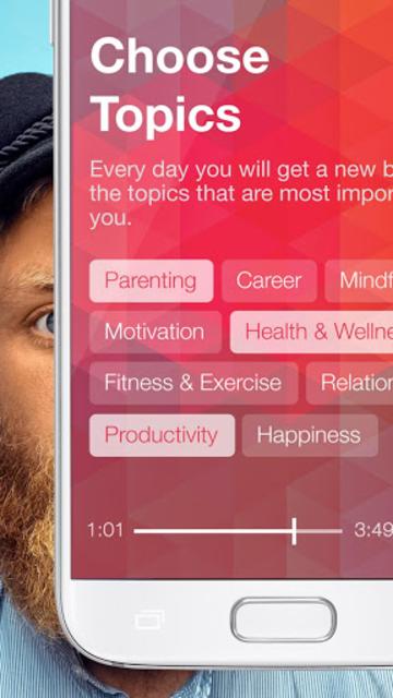 Daily Burst | Simple Wellness, Advice, Inspiration screenshot 3