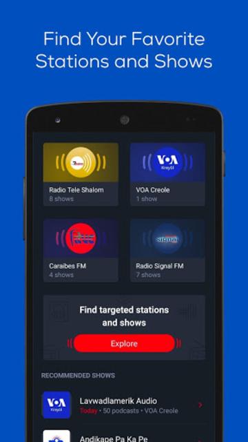 Zeno Haiti Radio screenshot 2